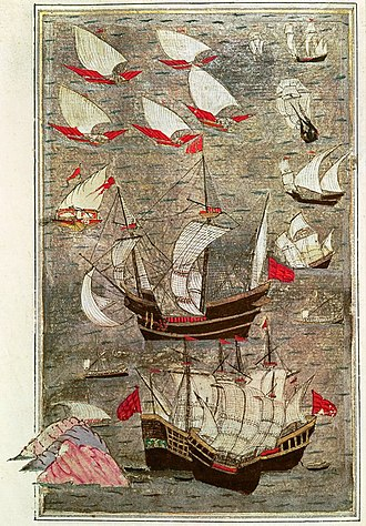 Ottoman naval expeditions in the Indian Ocean - Ottoman fleet in the Indian Ocean in the 16th century.