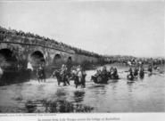 With the conquered Turk (1913) The bridge at Karisdiran