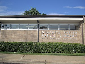 Ouachita Parish, Louisiana - Ouachita Parish Public Library in downtown West Monroe