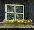 Oud scheefgezakt houten tuinschuurtje. Locatie, Tuinreservaat Jonkervallei 02.jpg