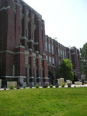 Oyster Bay High School - Oyster Bay High School in June, 2005
