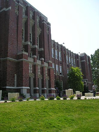 Oyster Bay High School - Oyster Bay High School in June, 2005