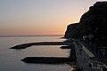 Pôr do Sol na praia da Calheta.jpg