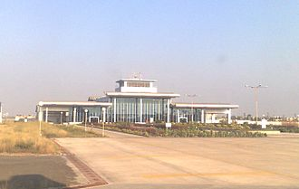 Porbandar - New terminal at Porbandar Airport