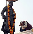 PM Modi pays tribute to Madan Mohan Malaviya, on his birth anniversary in 2014.jpg