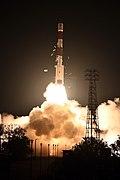 PSLV-C44 Microsat-R launch from First Launch Pad SDSC SHAR Sriharikota 06.jpg