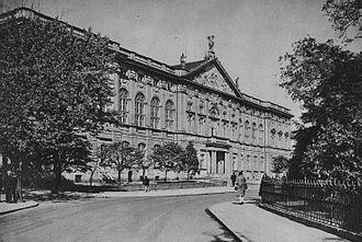 Krasiński Palace - Image: Pałac Krasińskich w Warszawie przed 1939