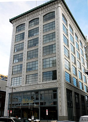 Packard Motor Corporation Building - (February 2010)
