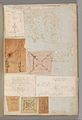 Page from a Scrapbook containing Drawings and Several Prints of Architecture, Interiors, Furniture and Other Objects MET DP372140.jpg