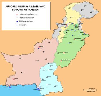 Список аэропортов Пакистана — Википедия