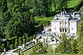 Palace Linderhof as seen from the Temple of Venus.jpg