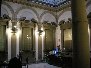 Palazzo Compagni - Main hall.