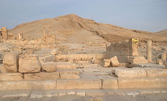 Al-Lat - Remains of the temple of al-Lat, Palmyra, Syria