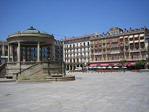 Pamplona.Platz