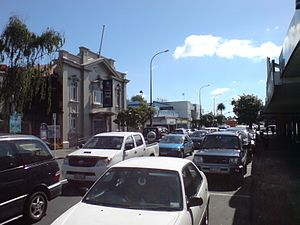 Papatoetoe - St George Street, Town Centre.