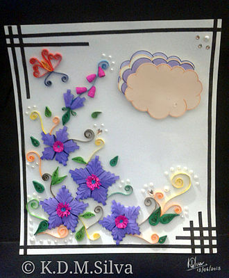 Quilling - paper quilling