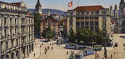 Paradeplatz 1910