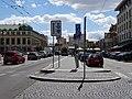 Pardubice, náměstí Republiky, doprava.jpg