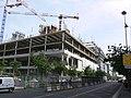 Paris - Avenue de France and rue de Tolbiac - new building (2012) above railway tracks 01.JPG