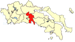 Location of Parnassida Province
