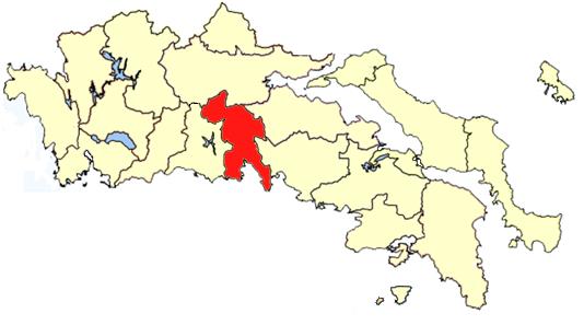 Location of Parnassida Province