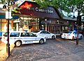 Parramatta 6 Falcon wagon, PA 36 ^ PA 14 2x Toyota Camry - Flickr - Highway Patrol Images.jpg