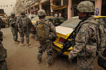Patrol near Joint Security Station Loyalty Baghdad, Iraq DVIDS159757.jpg