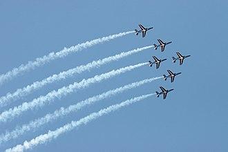 Patrouille de France - Image: Patrouille de france formation a 6