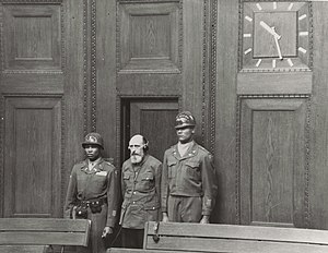 Paul Blobel - Paul Blobel is sentenced to death by hanging at the ''Einsatzgruppen'' trial