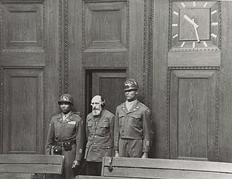 Einsatzgruppen trial - Image: Paul Blobel 1948