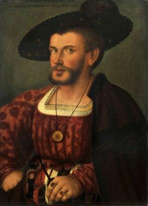 Paul Dax - Paul Dax: Self-portrait, around 1530