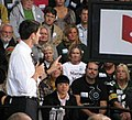 Paul Ryan points his finger to make a point at Carroll University in Waukesha. (8091035255).jpg