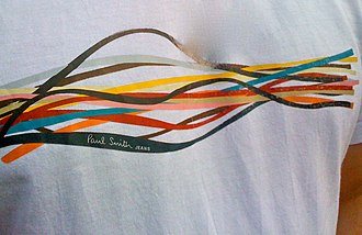 Paul Smith (fashion designer) - A T-shirt from the Paul Smith Jeans casual-wear range.