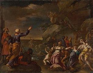 The Israelites Cross the Red Sea