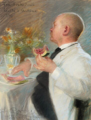 Peder Severin Krøyer - Fra frokosten i Civita d'Antino 1890.png