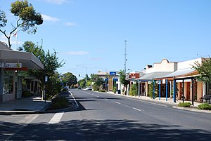 Penola, South Australia - Penola town centre