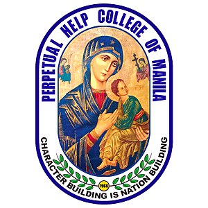 Perpetual Help College of Manila - Official Logo