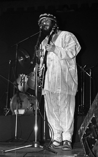Peter Green (musician) - Green performing on 30 May 1983