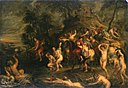 Peter Paul Rubens and Jan Boeckhorst - The escape of Cloelia from the camp of Porsenna.jpg