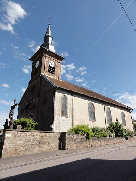 Pexonne (M-et-M) église