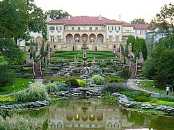 Philbrook Museum of Art, and gardens