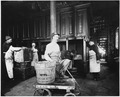 Photograph of five San Francisco Mint employees in what appears to be the Melting Room. - NARA - 296567.tif