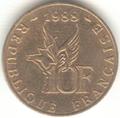 PièceFrançaise10Francs1988-Garros-Revers.png
