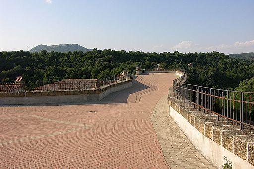 Piazzale del Masso Leopoldino - Sorano