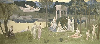 painting by Pierre Cécile Puvis de Chavannes