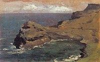 Piet Mondriaan - Rocky coast in England - A241 - Piet Mondrian, catalogue raisonné.jpg