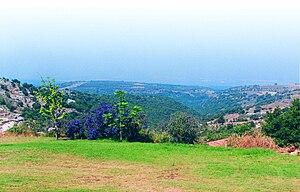 Mitzpe Hila - View from Mitzpe Hila