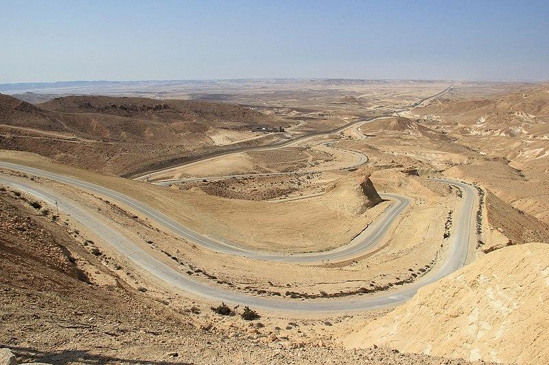 נגב, כביש 12, גבול מצרים