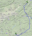 Pilgrimage route to Doylestown PA.jpg