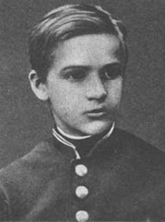 Józef Piłsudski - Piłsudski as a schoolboy